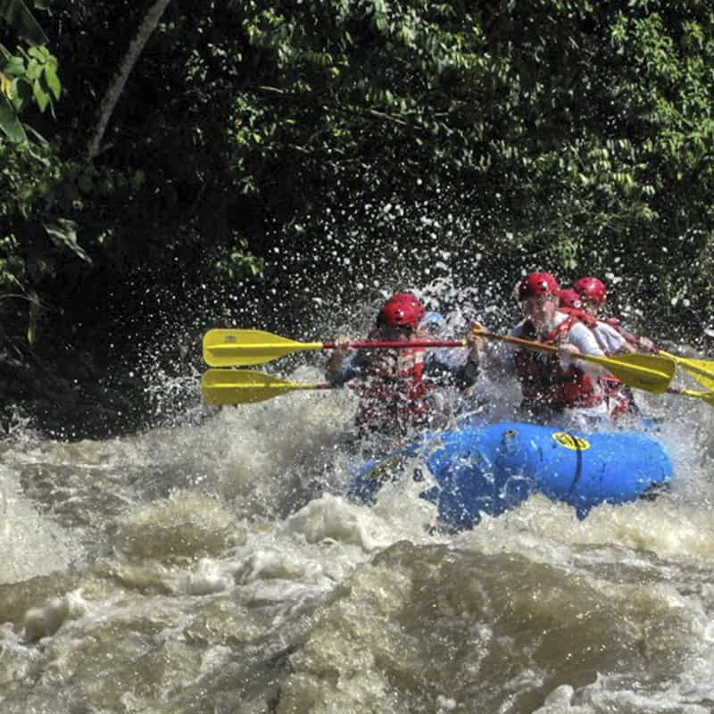 River Rafting in the Chiriqui Highlands